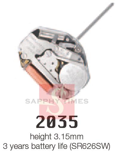 MIYOTA 2035 цана US$2.6/шт