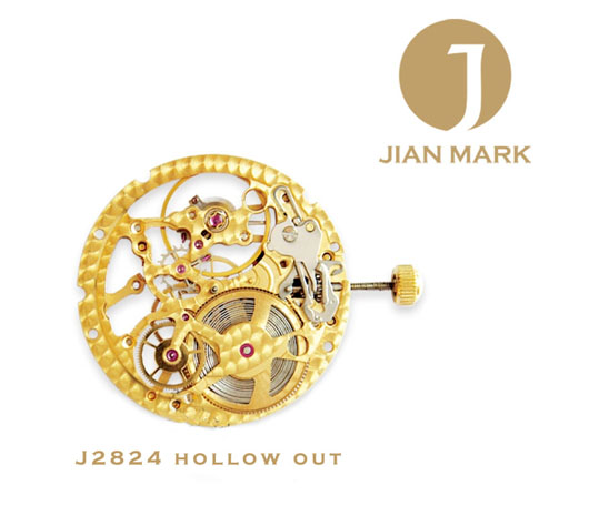 JIAN MARK movimentos J2824 hollow out