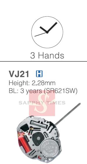 Hattori VJ21 מחירים $4.0/pc